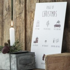 "Metalskilt ""Hygge of Christmas"" - Ib Laursen"
