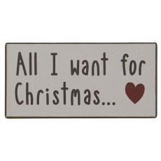 "Magnet ""All I want for Christmas"" - Ib Laursen"