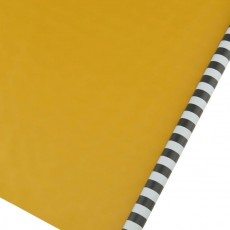 MG, 12C, Gift wrapping paper, Stripes, Black/Grey,