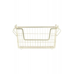 HD, 12C, Basket, Taw, Matt goldl: 32 cm, w: 16 cm,