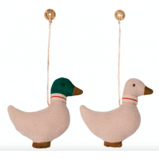 Duck ornament 2 ass.