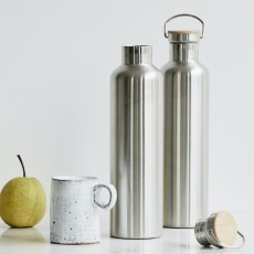 DATES thermos flask, steel