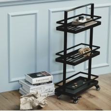 VOLLOS trolley, black