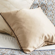 AIN cushion cover, S, light brown/brown