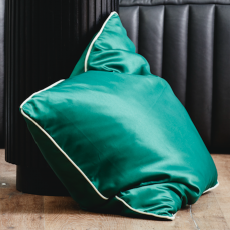 AIN cushion cover, S, dark green/green