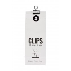 Klips Wire sort - Monograph by House Doctor - 33 mm